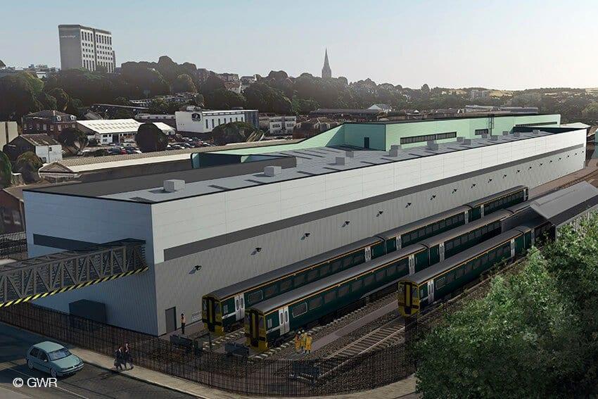 Exeter Depot Enhancement Works | HOCHTIEF