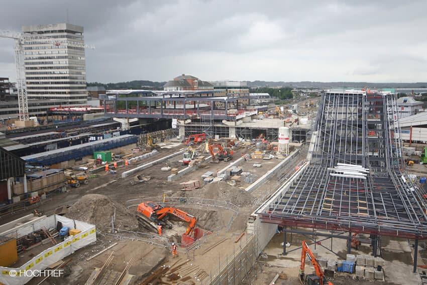 Reading Station Area Development   HOCHTIEF